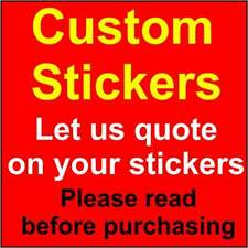 Custom Stickers - Made to Order