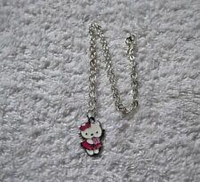 Ex-Display Caliente Rosa Hello Kitty Encanto Colgante Collar De Flores Posy Gato Gatito Z