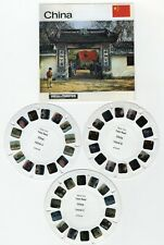 Historic CHINA 3 View-Master TEST Reels and Copy of Cover