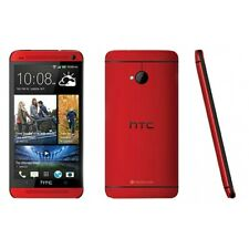 """Unlocked 4.7"""" HTC One M7 32GB 4G LTE WiFi NFC 4.1MP Android Smartphone - Red"""