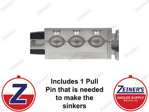 3253 New Do-It Egg Sinker Mold - 3 oz production style