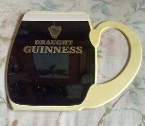 GUINNESS  GLASS SHAPED BAR SIGN