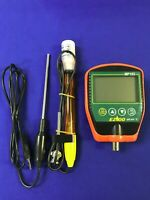 pH/mV/Temp #1 Meter(Handheld)ATC/MTC(PTS)w/pH electrode,Temp.probe,Buffer 4&7...
