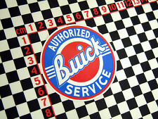 Buick Service Sticker