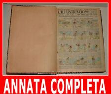 L'ILLUSTRAZIONE DEI PICCOLI 397/449 Annata Completa 1922 Anno IX Picco e Toselli