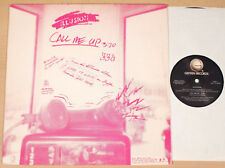 "ILLUSION - Call Me Up (GEFFEN, US 1986 / HARD-ROCK / PROMO-12""-MAXI / NEAR MINT)"