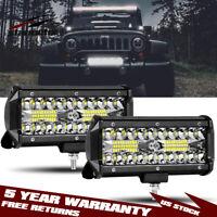 """7/"""" LED Work Light Bar Spot John Deere 9400 9500 9600 320 Tractor 2355 12V 24V"""