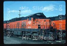 Original Slide B&LE Bessemer & Lake Erie SD18 852 Greenville PA 1986