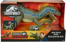 "Jurassic World Super Colossal Velociraptor Blue Dinosaur Action Figure 42"" *NEW*"