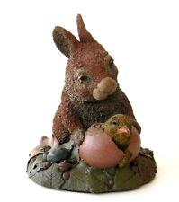 Tom Clark Tim Wolfe Cairn Studio Rabbit Baby Bird 6 5/8 1992