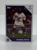TOPPS LOST ROOKIE SAMUEL ETO'O REAL MADRID