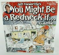 Jeff Foxworthy You Might Be a Redneck If - Party Board Game Great Country Fun