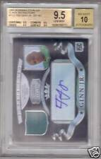 BGS 9.5 Bowman Sterling BLACK REF AUTO Ted Ginn RC /25
