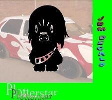 Wookie Chewbacca Sticker Adesivo purtroppo GEIL I like gscheid JDM Hater