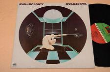 JEAN LUC PONTY LP TOP JAZZ AVANT GARDE MUSIC-CIVILIZED EVIL 1°ST ORIG ITALY
