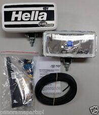 Hella 181 Driving Light Kit 100w Rectangle Landcruiser Hilux Prado LC200 VDJ NEW