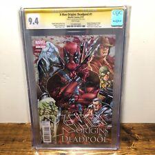 X-Men Origins Deadpool (2010) #1 CGC 9.4 SS Comic Signed by Mark Brooks