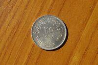 MONETA EGITTO 20 PIASTRES 1956 ARGENTO SILVER 720 peso 14 gr SUBALPINA