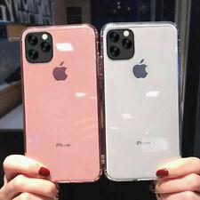 Coque iPhone 11 Pro Max/X/XR/6/7/8SE/12/Pro/Mini Silicone TPU Cover Housse