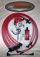 BB Mopar HEI Distributor RED Chrysler Kit Dodge 413 426 440 + 45K COIL + WIRES