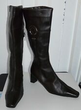 ladies long length boots with heels, YOU KNOW SHOES size 38