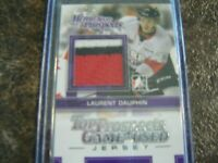 2013-14 H&P Heroes And Prospects Silver Jersey Laurent Dauphin Card#TPM-02