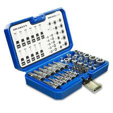 34-tlg Extérieur Torx Intérieur Socket Lot - Écrous Kit Écrou Embouts TX10-TX60