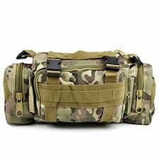MTP Multicam Molle Waist Pack, Military Army Bum Bag, MTP Camo Fanny Pack