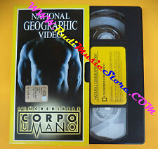 film VHS L'INCREDIBILE CORPO UMANO 2002 NATIONAL GEOGRAPHIC VIDEO (F96) no dvd