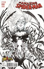AMAZING SPIDERMAN 16 COMICXPOSURE MARCH SKETCH VARIANT BLACK CAT VENOM SOLD OUT