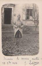 Carte Postale ancienne 1917 Photo Militaire