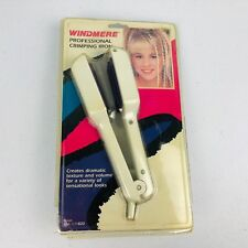 Vintage Windmere Professional Crimping Iron WMC-1CP820 Pro-Style Purple Plated
