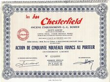 LOS BAJO CHESTERFIELD 50 nuevos francos 1960
