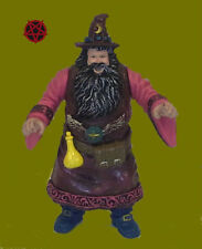 Wizard Magician Magic Myth Legend Fable Merlin Spell Occult Pentagram Figure Orb