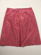 J.Crew Women's Dust Pink Silk A-Line Skirt Size 2