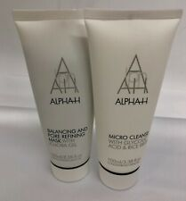 Alpha-H Balancing and Pore Refining Mask (100ml)