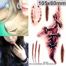 Scar tattoo bite mark halloween Water Transfer fake tattoo UK