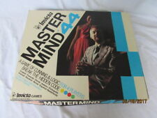 Nice Vintage Master Mind 44 Peg Board Game Cunning Logic Break the Code