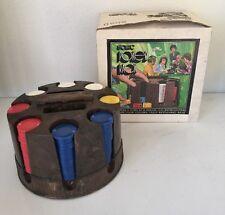 Vintage Pleasantime Revolving Automatic Poker Rack Chip Dispenser Pacific Game