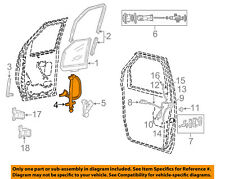 FORD OEM Front Door-Window Lift Regulator 9C2Z1523200A