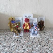 DEB CANHAM ARTIST DESIGNS INC. '  LOT OF 5  BEARS