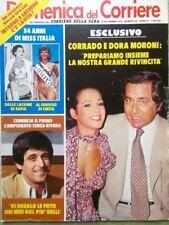 La Domenica del Corriere 19 Settembre 1979 Moroni Poggi Carlo Saturno Corrado Tv