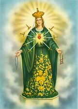 Catholic Print Picture OUR LADY OF SORROWS 7 Dolors Mary - Ready to frame