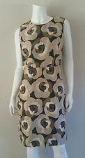 KATE SPADE Neutral Shanghai Deco Beige Rose DELLA Sheath Dress sz 10 NWT $398