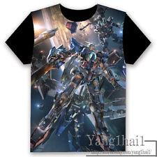 GUNDAM Anime Otaku Short Sleeve Unisex T-shirt Tops Cool S-XXXL Summer #P-247