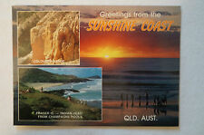 Greetings from The Sunshine Coast - Queensland - Vintage - Postcard.