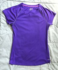 CHAMPION semi fitted ATHLETIC Top PURPLE Juniors Womens SIZE XS