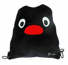 Pingu Plush Drawstring Bag PE bag Gift Idea Nursery Bag School pack NEW OFFICIAL