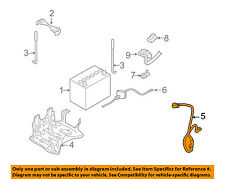 Infiniti NISSAN OEM 03-07 FX35 Battery-Negative Cable 24080AL510
