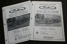 2 Brillion Repair Parts Catalog Manual Wm 260amp300 Wing Pulvi Mulcher With16 Models